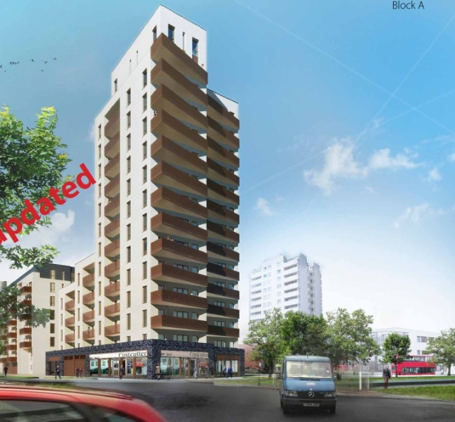 Thamesmead tower