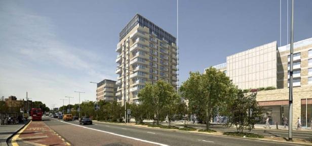 Woolwich crossrail tower 2