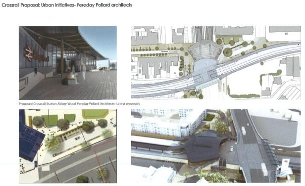 Abbey Wood crossrail renders
