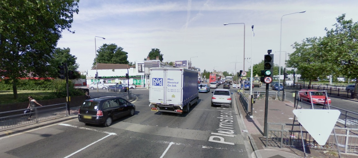 Plumstead Road tower junction
