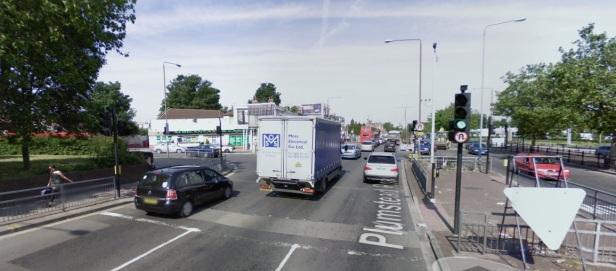 Plumstead Road tower junction
