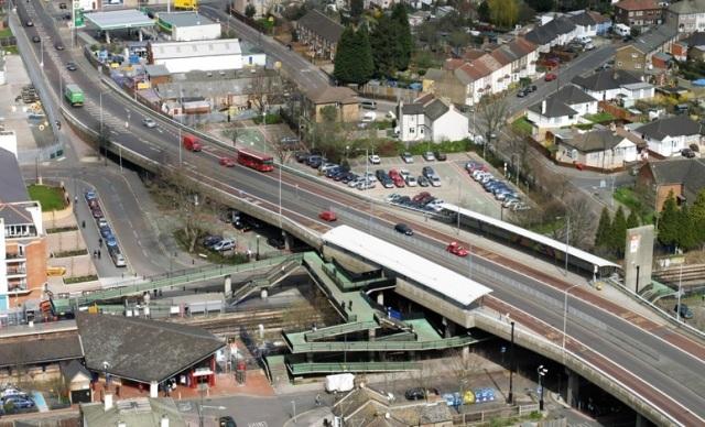 Abbey Wood station ramp