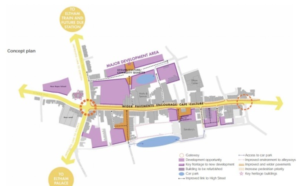 Eltham masterplan
