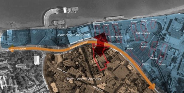 Callis Yard overhead map