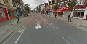 cycle lane bus stop