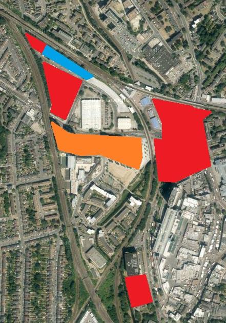 Lewisham Regeneration sites
