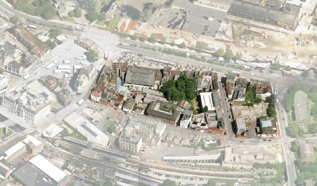 The extensive Spray Street Quarter site