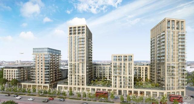 Berkeley's Arsenal development. Phase 4 now under consturction