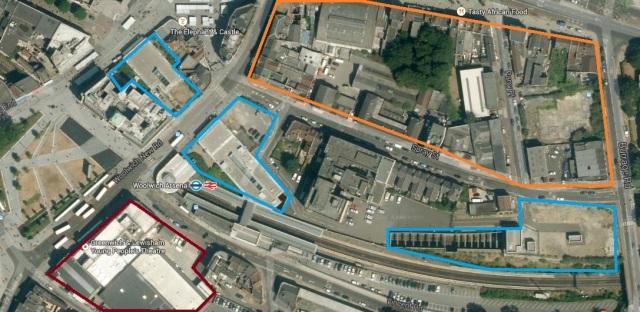Large sites for redevlopment