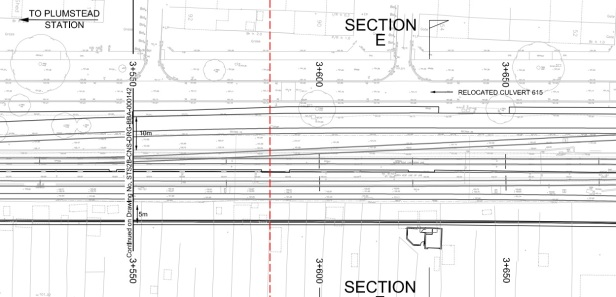 Crossrail plan relocated culvert