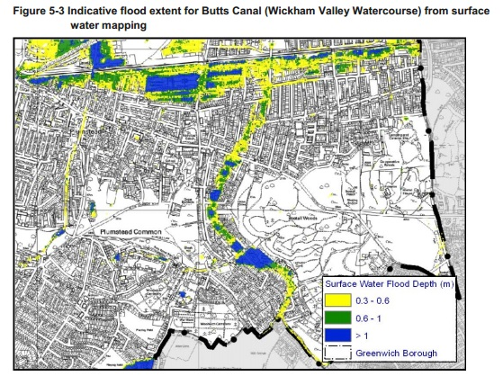 Greenwich Report water course