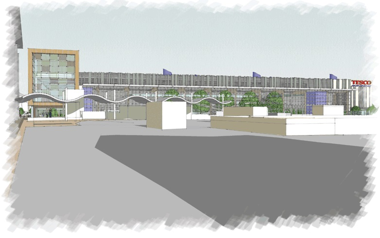 tesco Bexleyheath drawing