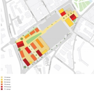 Thomas Street masterplan heights