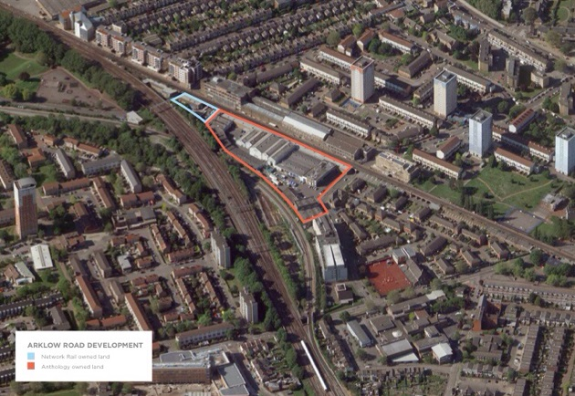 Site of the proposed development