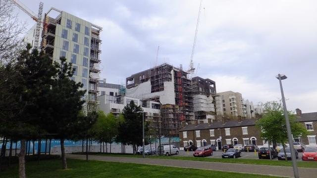 Greenwich peninsula development