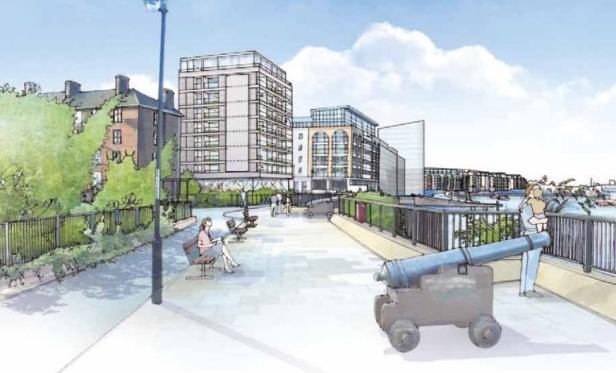 Greenwich new flats riverside 3