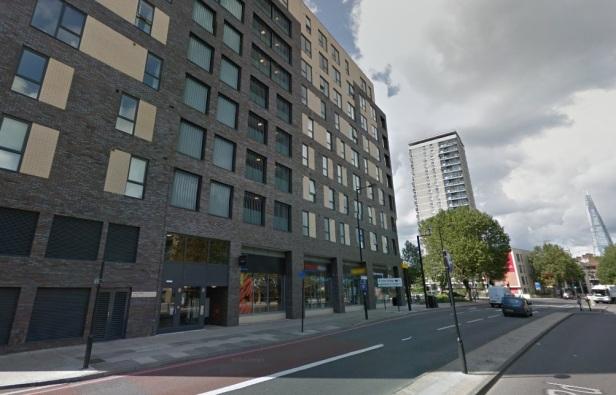 Bermondsey tall flats