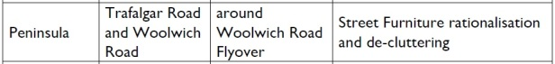 woolwich road flyover public realm