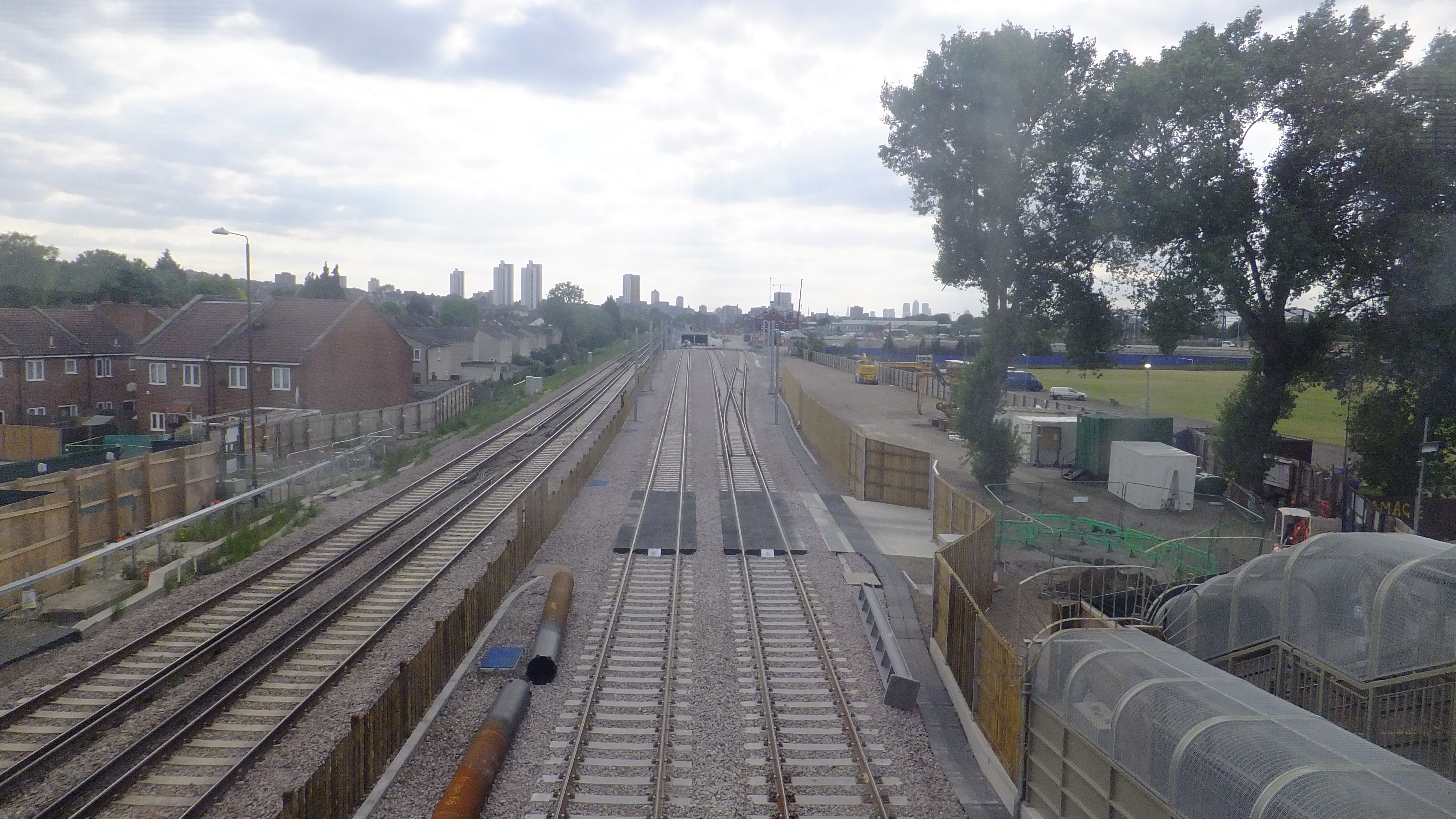 Abbey Wood Amp Woolwich Crossrail Progress From The Murky