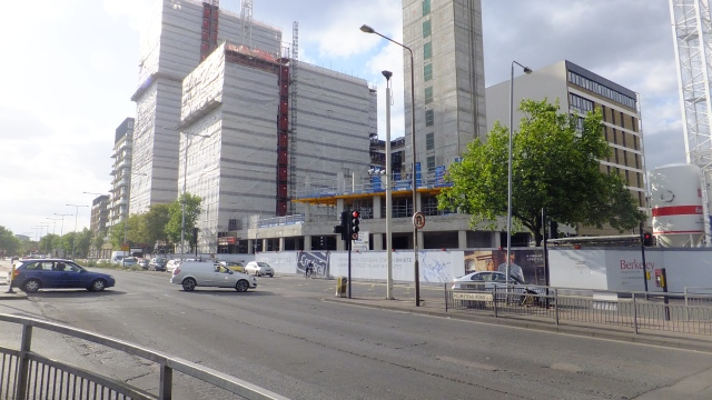 Berkeley Homes' development above Woolwich Crossrail station