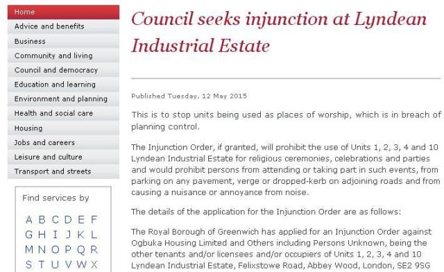 If the council won then ignored like all previous decisions