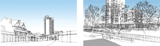 Catford tower plan