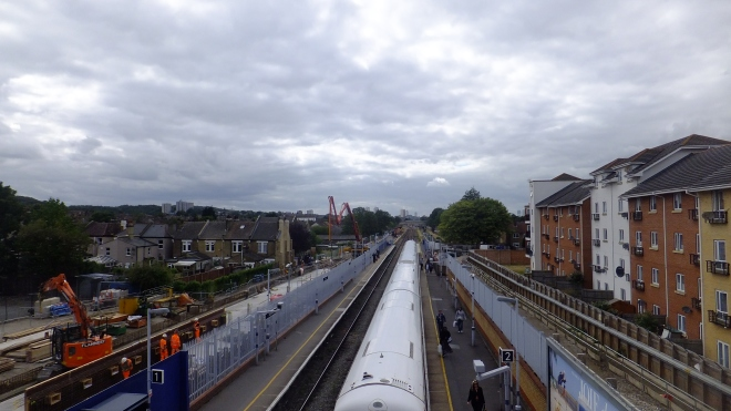 Abbey Wood station west