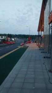 Sainsbury's Cycle Lane