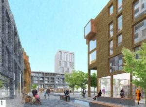 Peabody plans square