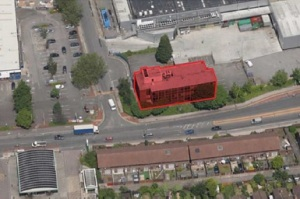 valley house aerial