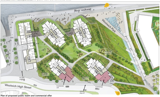 waterfront site map