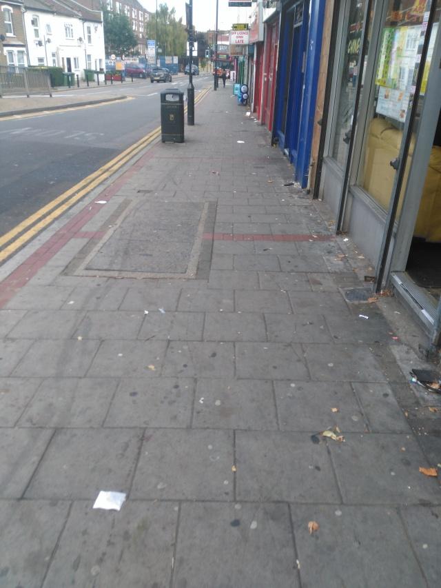 pavements-unclean