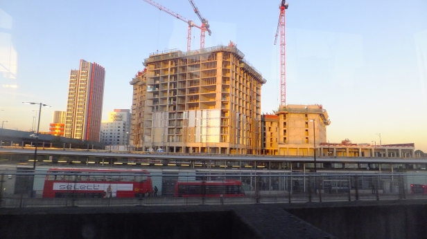New development by Canning Town station