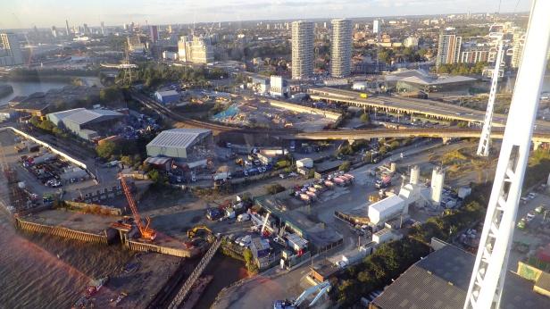 Silvertown tunnel northern portal site
