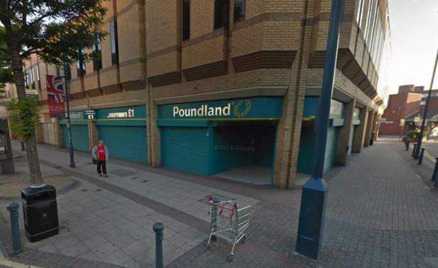 Poundland site that Iceland are looking to move into