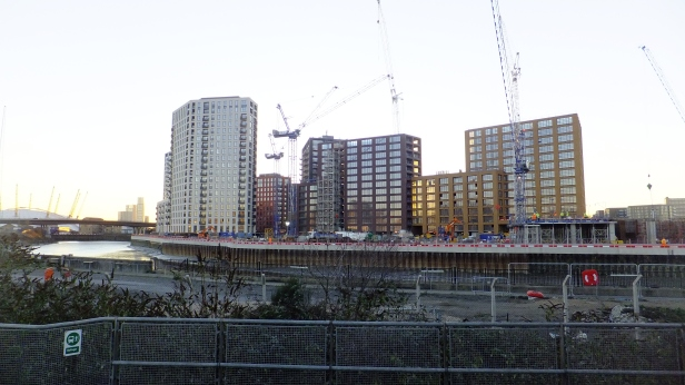 Taken in January 2017 from Canning Town station