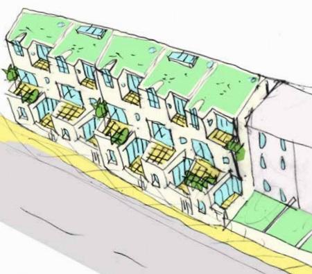Maze Hill Housing Render 2
