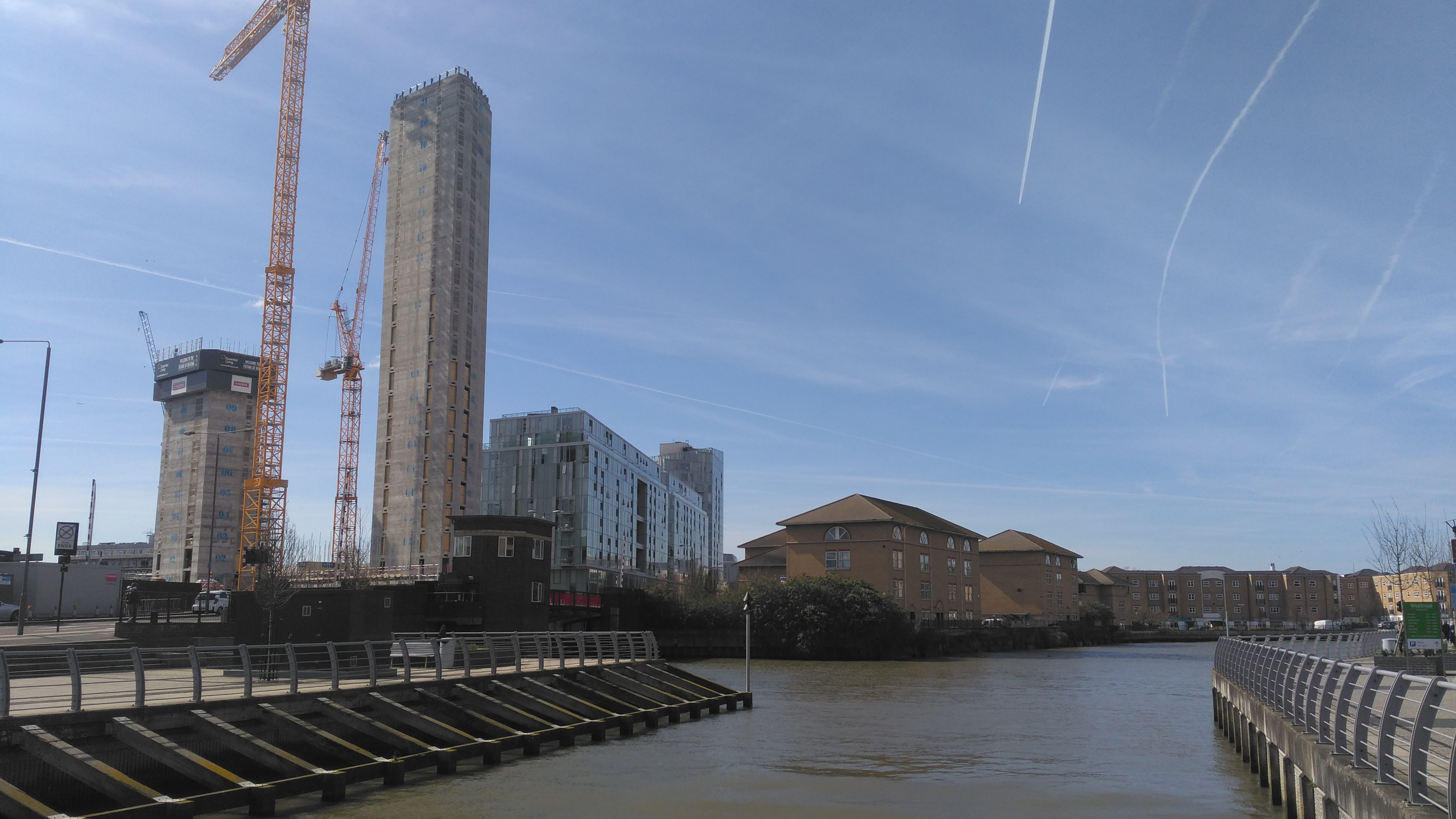 Deptford Creek tower