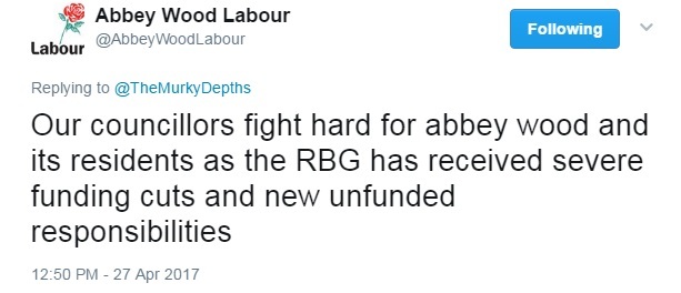 abbey wood labour