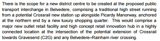 growth strategy belvedere outlet village